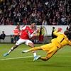 Aubameyang, Willock and Saka help Arsenal get Europa League campaign off to winning start