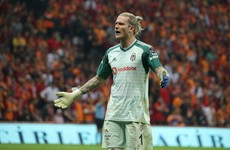 Karius makes another blunder after mistiming clearance and colliding into team-mate