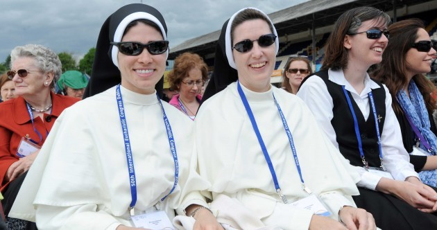 Shades and sun hats: Day 1 of the Eucharistic Congress