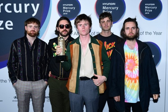 "'F**k Boris Johnson!"": Irish band pipped to Mercury as rapper takes aim at PM at awards show"