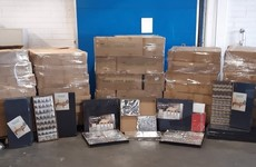 Revenue seizes more than €1 million worth of illegal cigarettes