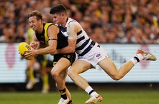 Disappointment for Tuohy and O'Connor as Geelong miss out on AFL Grand Final spot