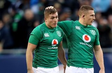 'Ireland will probably look to help out Larmour by dropping someone else in alongside him'