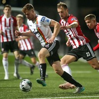 Injury-ravaged Bohemians battle to point at Derry as 14-year-old Evan Ferguson makes league debut
