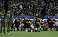 As it happened: New Zealand v South Africa, Rugby World Cup