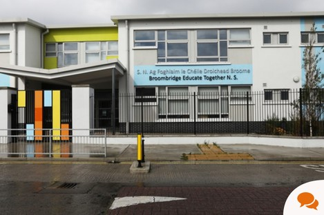 An Educate Together school in Cabra.