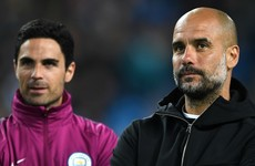 Pep 'pretty sure' Arteta will be his successor at Manchester City