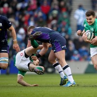 Scotland intend to smash Johnny Sexton if he plays to the line for Ireland