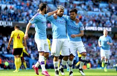 Bernardo Silva nets hat-trick as Man City smash eight past hapless Watford