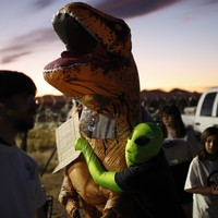 'Storm Area 51' attendees fail to storm Area 51 as far fewer than expected turn out