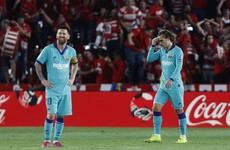 Shock Granada win sees Barcelona endure worst start to La Liga season since 1994