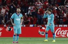 Shock Granada win sees Barcelona endure worst start to La Liga season since 1994
