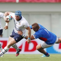 Italy ease to seven-try win over Namibia