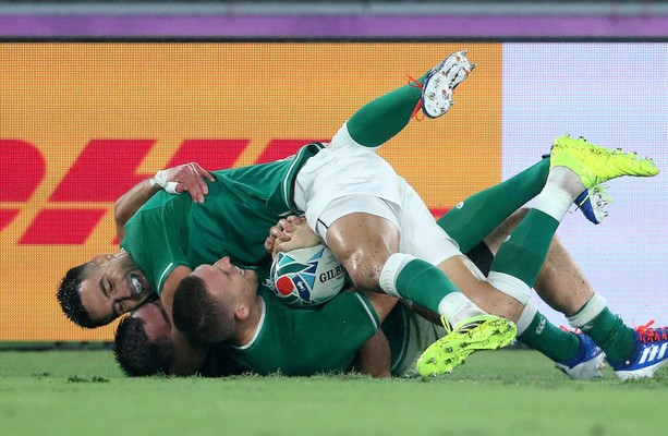 Schmidt's Ireland dominant as they lay down World Cup marker against Scots