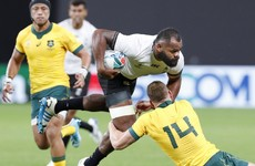 Australia's Hodge cited after escaping red in World Cup win over Fiji