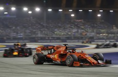 Vettel ends long wait for victory with Singapore triumph