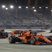 Vettel ends long wait for victory with Singapore triumph