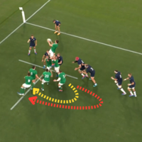 Analysis: How Ireland's forwards took Scotland apart in World Cup opener