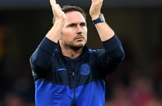 'We were the better team' - Lampard on Liverpool loss