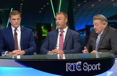 TV Wrap - Jamie Heaslip steps up to the plate as RTÉ's World Cup coverage gets off to a flyer