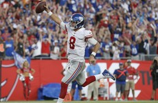 Giants rookie Jones wins first start, Steelers & Broncos sink to 0-3