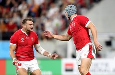LIVE: Wales v Georgia, Rugby World Cup