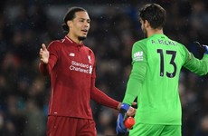 Liverpool duo feature in Best XI, but no room for Premier League champions Man City