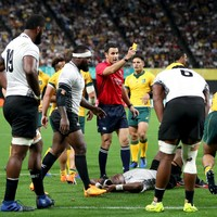 World Rugby release statement criticising World Cup refereeing standards