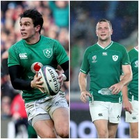 Ireland have 'utmost faith' in Carbery and Carty if Sexton sits out Japan game