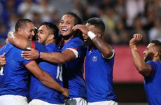 Samoa eventually power past Russia in Ireland's pool but lucky to finish with 15 men