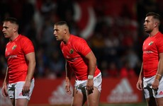 Sweetnam, Arnold and Goggin emerge as injury concerns for Munster