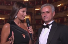 Mourinho left baffled by 'inter-planetary cup' question from Fifa awards host