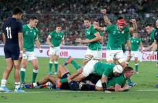 Strike-rate of Ireland's forwards sets them apart