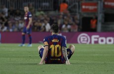 Messi injured again as Barcelona get much-needed win over Villarreal