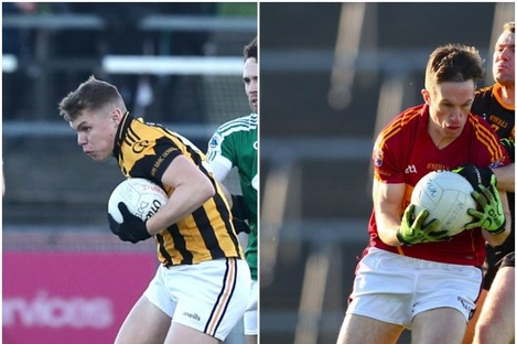 Crossmaglen and St Joseph's were amongst the county semi-final winners today.