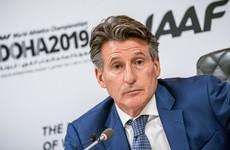 Britain's Sebastian Coe re-elected IAAF president