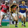 Cork, Kilkenny and Tipperary forwards to contest Hurler of the Year award