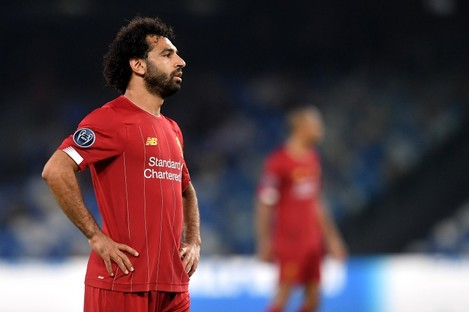 Mohamed Salah of Liverpool (file pic).