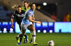Campbell and Toland feature as Man City advance to last 16 of Women's Champions League
