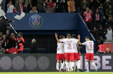 PSG slump to shock home defeat