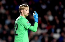 Liverpool boss impressed by Irish U21 keeper Kelleher in first-team debut