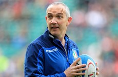 'I promised the guys an old-school night' - O'Shea rewards Italy players before South Africa showdown