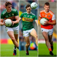 Kerry duo and Armagh forward to contest Young Footballer of the Year award