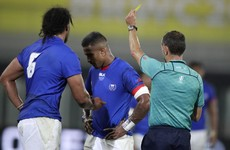 Samoa's Lee-Lo to miss Ireland clash after receiving three-week ban