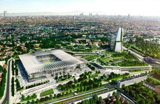 Milan clubs unveil rival projects for new San Siro stadium