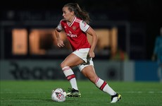 McCabe helps Arsenal coast through to Women's Champions League last 16