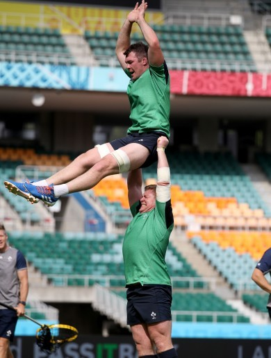 Ireland's top-level Test experience should prove too much for hosts Japan