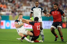 England's Francis cited for high shot, Quill banned for remainder of RWC pool stage
