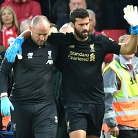 Alisson to return to training on Sunday, Klopp confirms