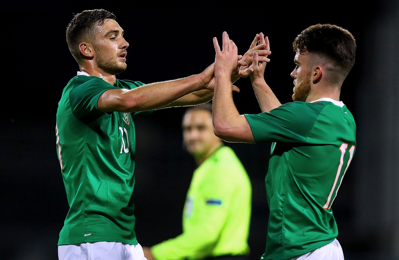 Irelands crucial U21 Euro qualifier against Italy at Tallaght